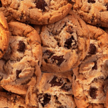 Choc Chip Cookies …the Unhealthy Kind