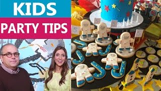Kids Birthday Party Planning and Ideas, Tips and Advice with Celebrity Party Planner Philip Carr