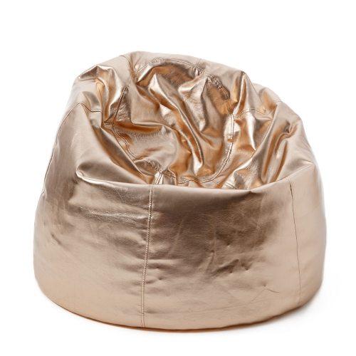 Metallic Bean Bag Cover Rose Gold