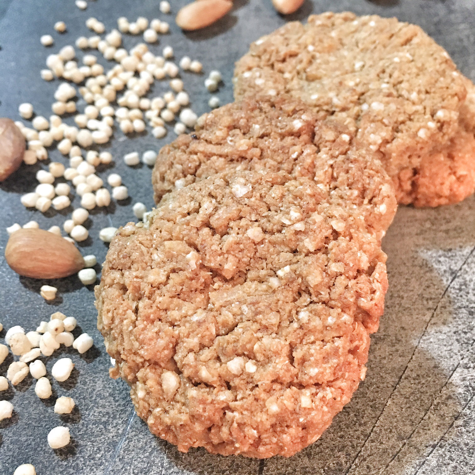 Wholesome Anzac Biscuits