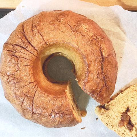 Raisin Coconut Bundt Cake