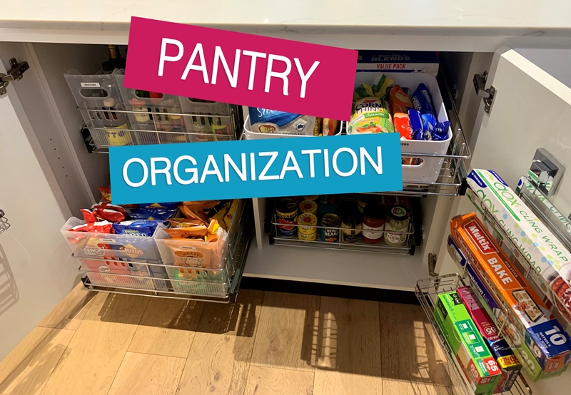 Pantry Organization | Overhaul Ideas