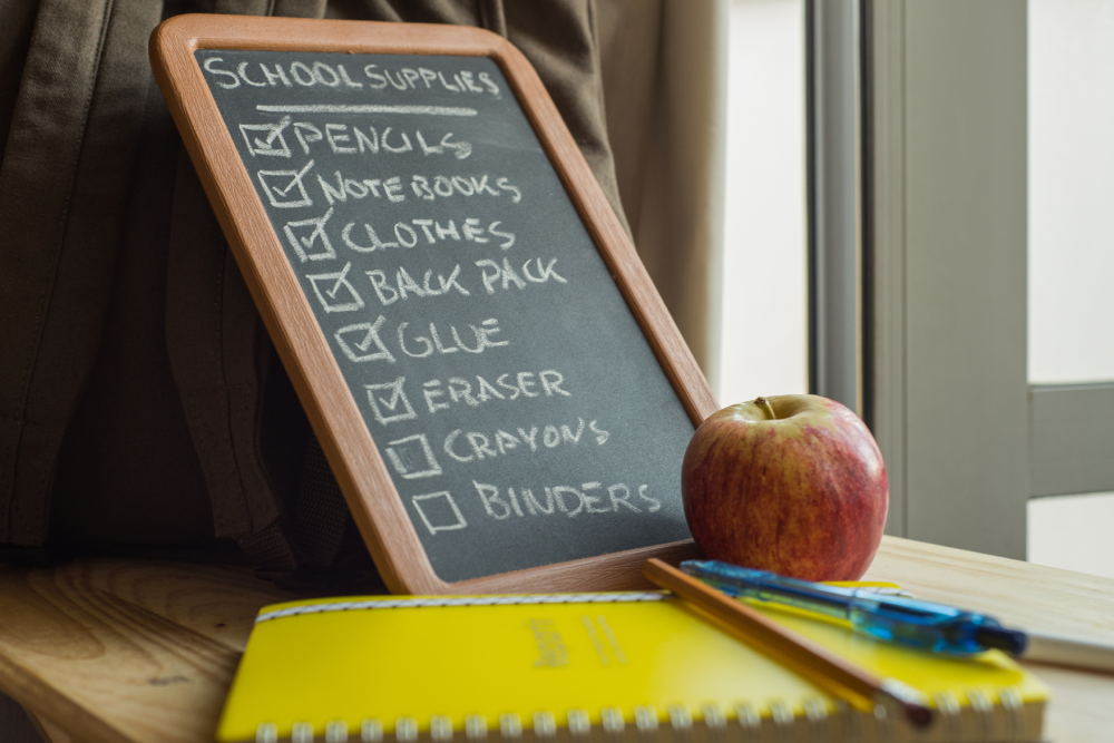 Your Super Back to School List